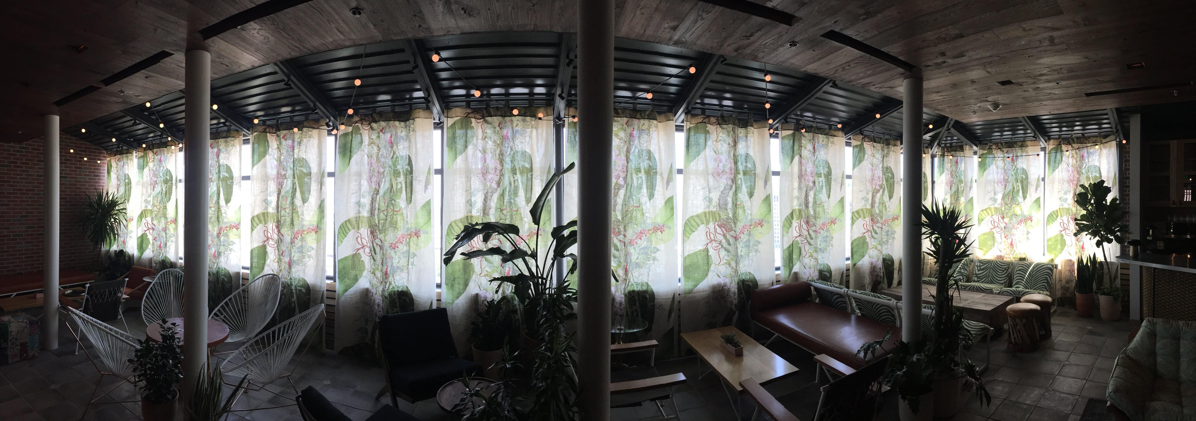 Joie De Vivre Garden Rooftop Bar