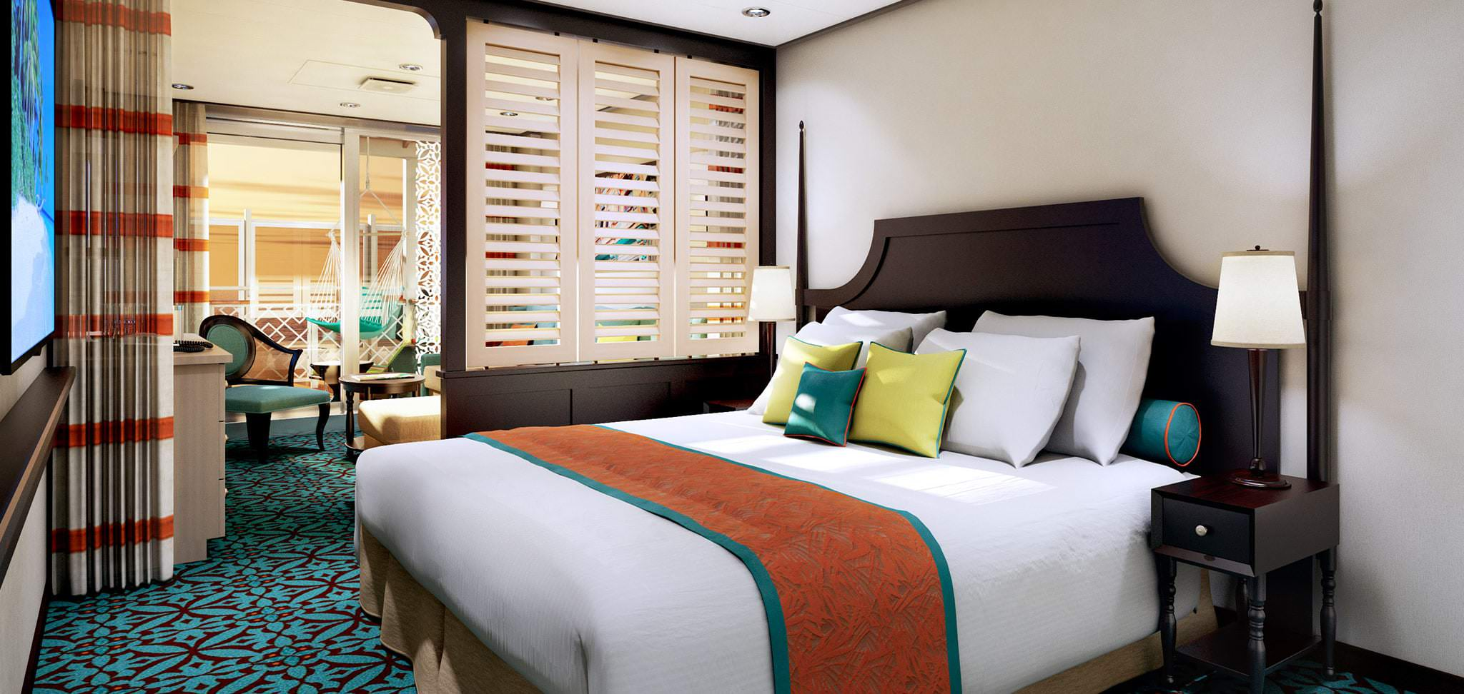Carnival Havana Staterooms & Suites